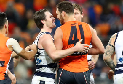 Mumford escapes with fine at AFL tribunal