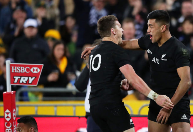 Rieko Ioane New Zealand Rugby Union All Blacks Bledisloe Cup Rugby Championship 2017