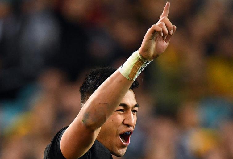 Rieko Ioane New Zealand Rugby Union Championship Bledisloe Cup 2017