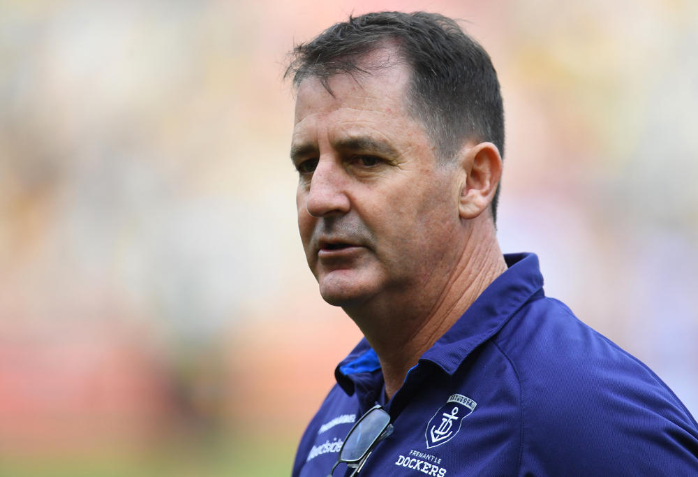 Ross Lyon Fremantle Dockers AFL 2017
