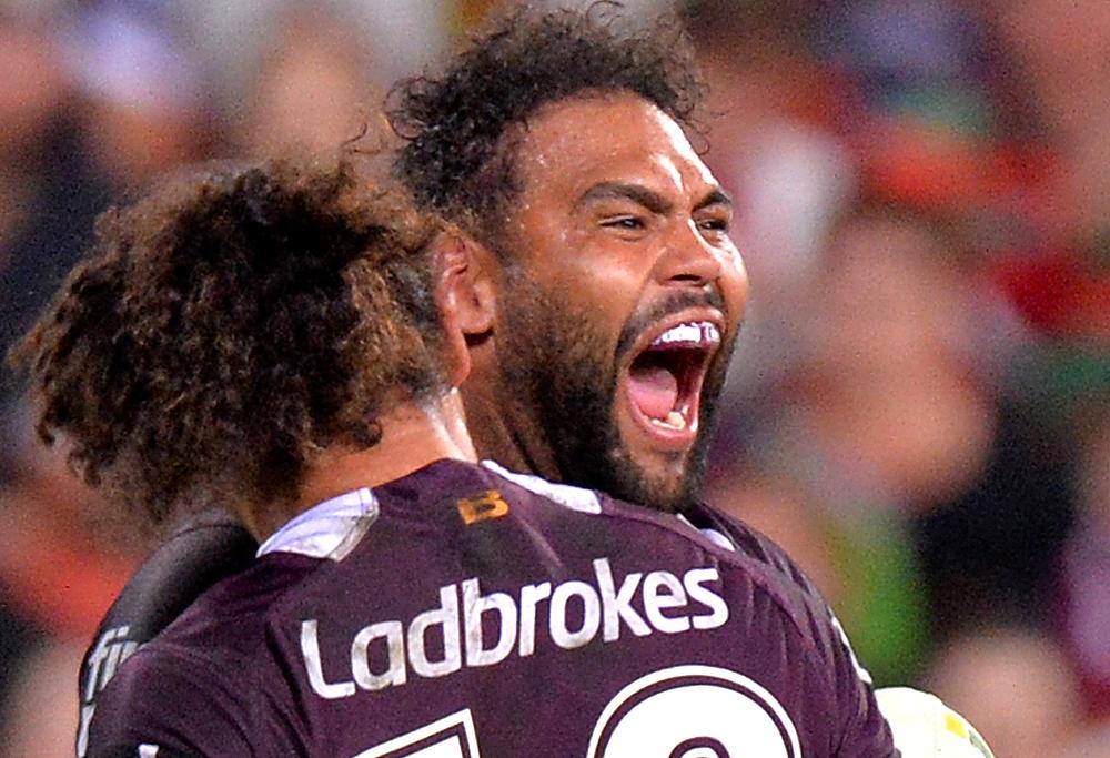 Sam Thaiday Brisbane Broncos NRL Rugby League 2017