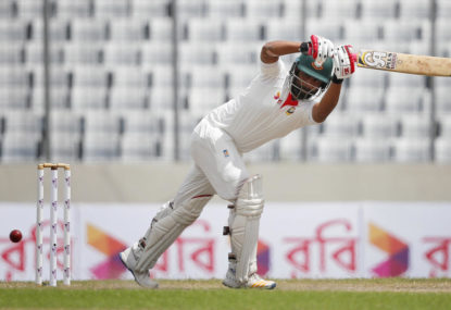 My top five Test knocks by Bangladeshi batsman
