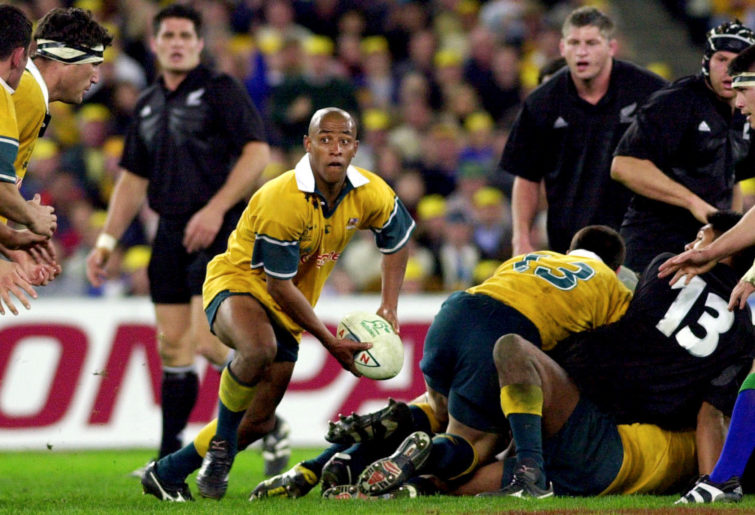 George Gregan passes