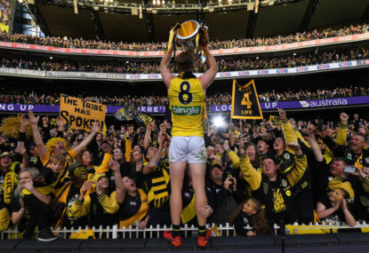 Terry Wallace's Tigers leading Richmond's premiership charge