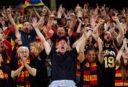 Crows pip Dockers in AFL pre-season game