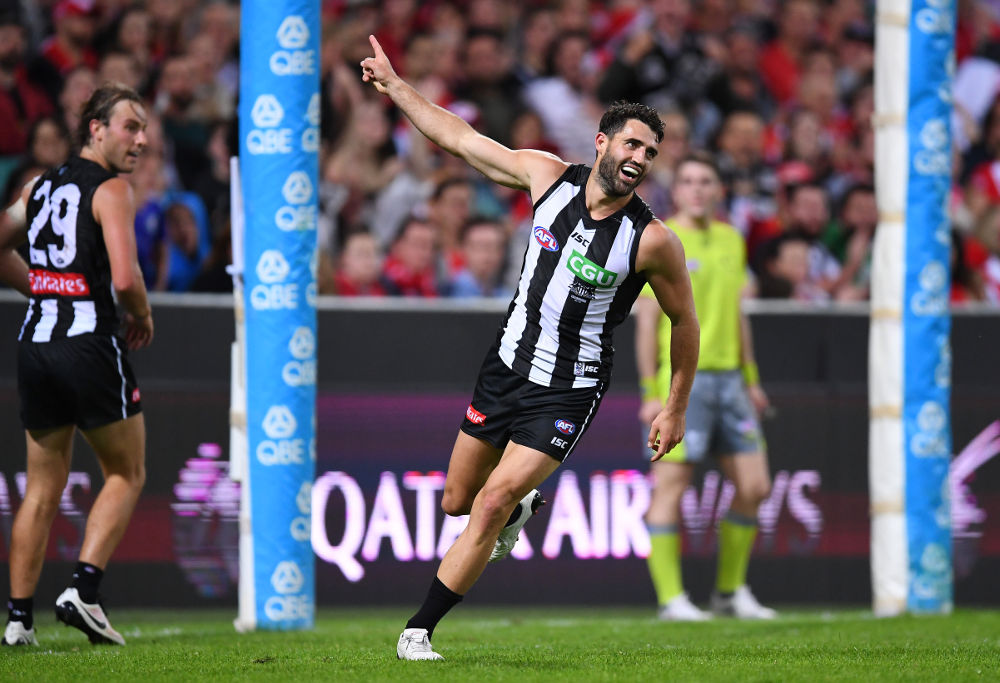 Alex Fasolo Collingwood Magpies AFL