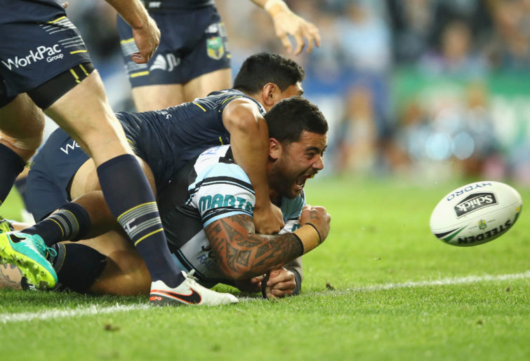 Andrew Fifita Cronulla Sharks NRL Rugby League 2016