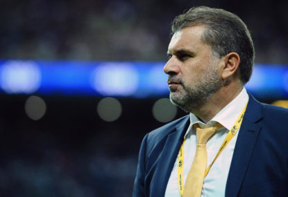 Ange Postecoglou is taking the easy way out