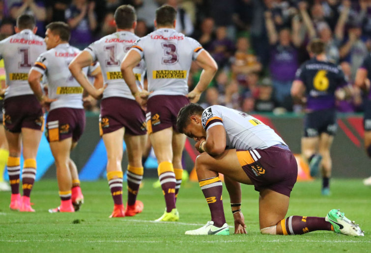 Anthony Milford Brisbane Broncos NRL Rugby League Finals 2017
