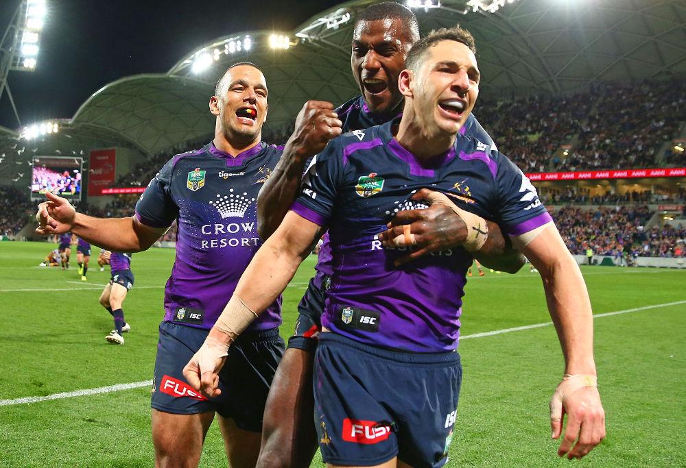 Billy Slater Melbourne Storm NRL Rugby League Finals 2017