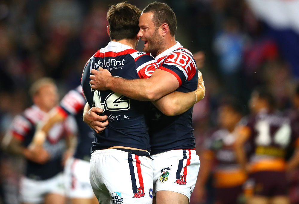 Boyd Cordner of the Sydney Roosters in 2017.