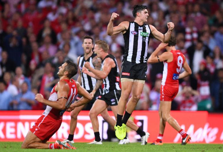 Brayden Maynard Collingwood Magpies 2017 AFL