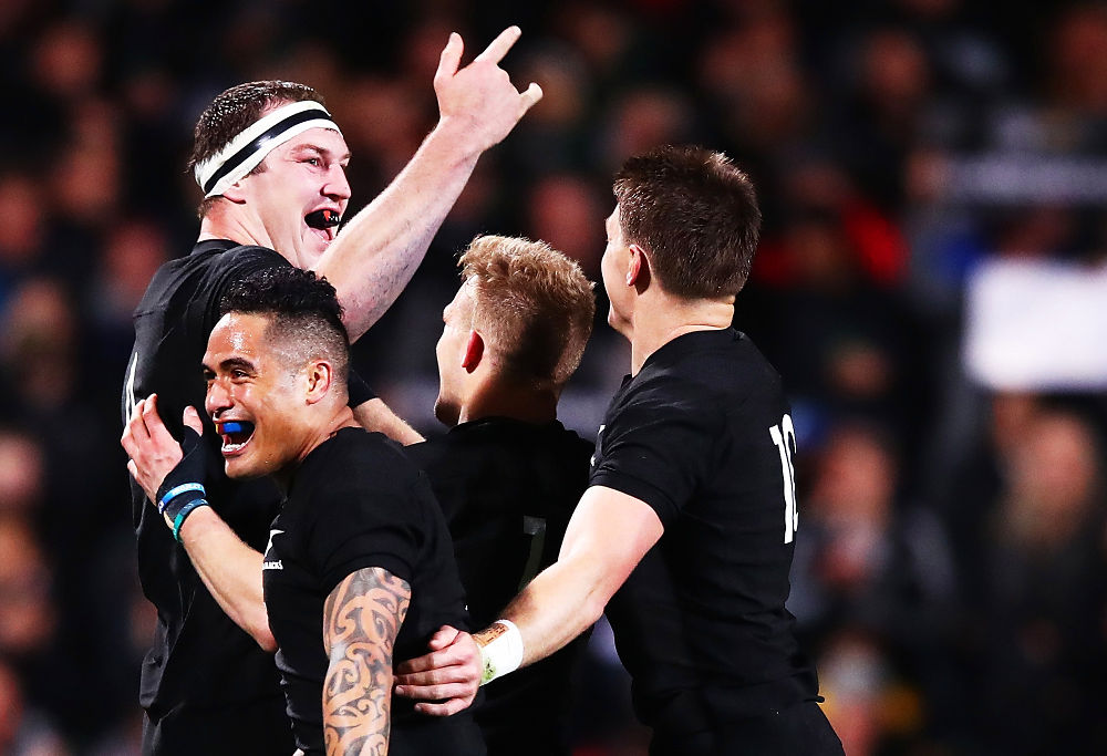 Brodie Retallick New Zealand Rugby Union All Blacks 2017