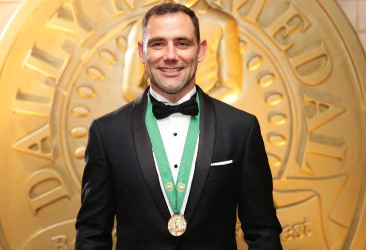 Cameron Smith Dally M Medal 2017