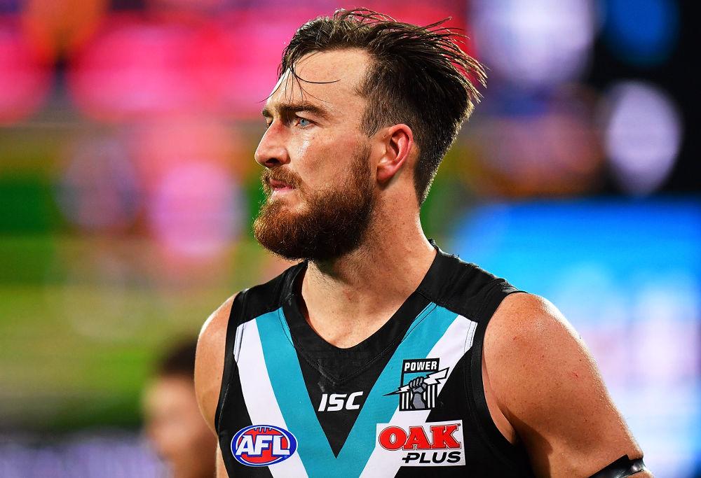 Charlie Dixon Port Adelaide Power AFL 2017