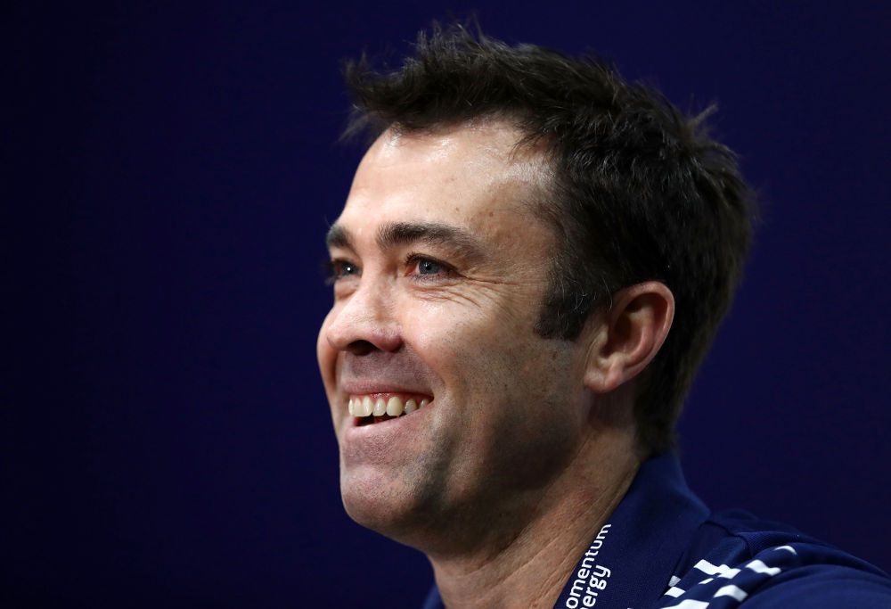 Chris Scott Geelong Cats AFL 2017
