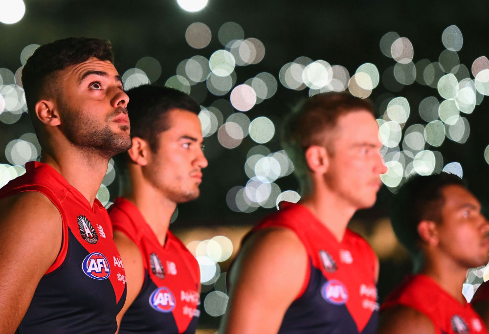 Christian Salem Melbourne Demons AFL Anzac Day 2017