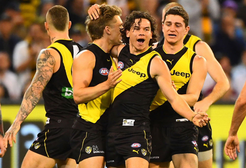 Daniel Rioli AFL Finals Richmond Tigers 2017
