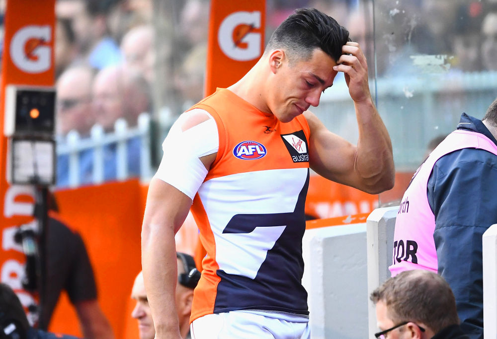 Dylan Shiel GWS Giants AFL 2017