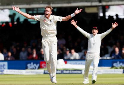 Slim pickings: Test cricket's 'Slender XI'