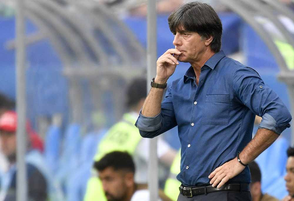 German national team coach Joachim Low.