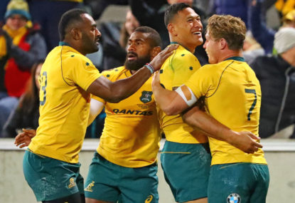 The Wallabies forwards make amends, but we need consistency
