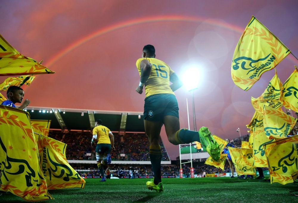 Israel Folau Australia Rugby Union Wallabies 2017