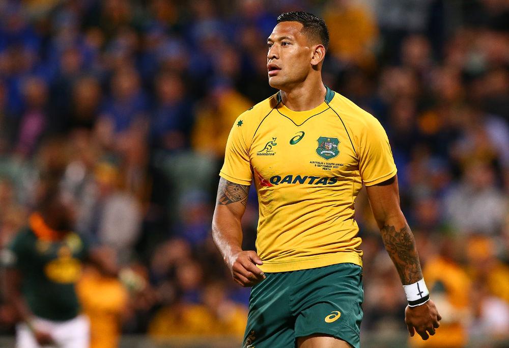 Israel Folau Wallabies Australia Rugby Union 2017