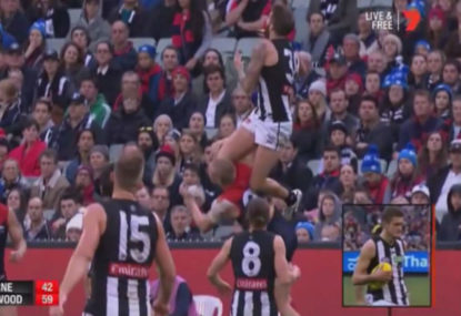 Eddie blows up about Howe snub, but the Collingwood faithful are to blame