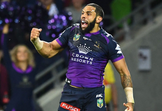 Josh Addo-Carr Melbourne Storm NRL Rugby League 2017 Finals