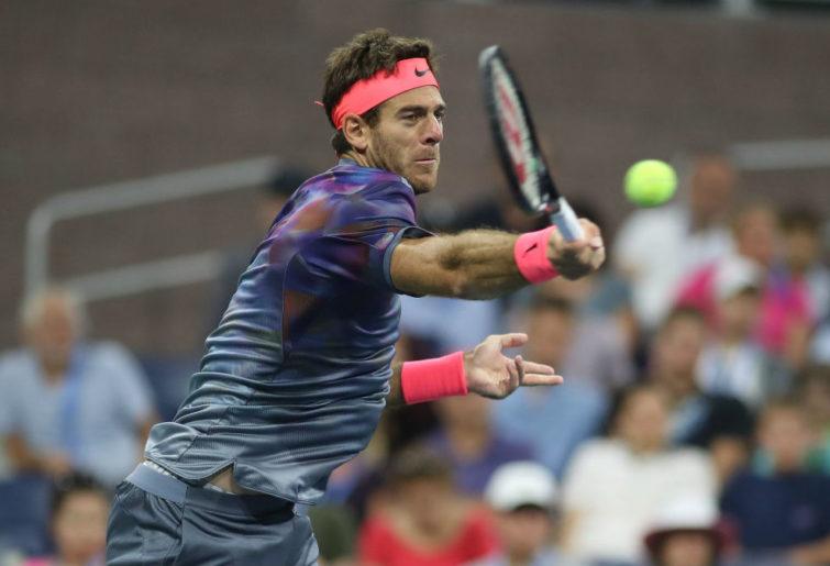 Juan Martin del Potro of Argentina has defeats Roger Federer.