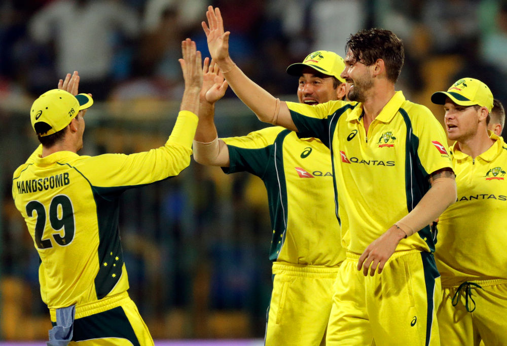 Kane Richardson Australia Cricket ODI 2017