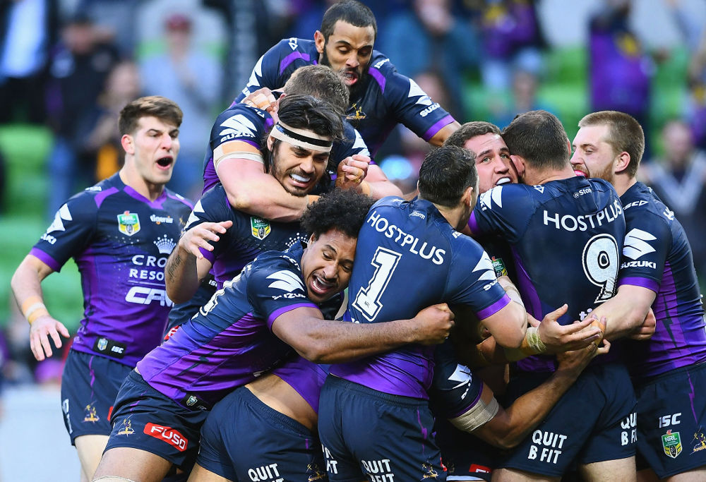 Kenny Bromwich Melbourne Storm NRL Rugby League Final 2017