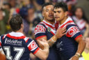 Roosters rout Warriors 32-0