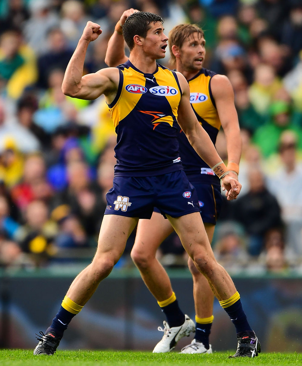 Liam Duggan West Coast Eagles AFL 2017 tall