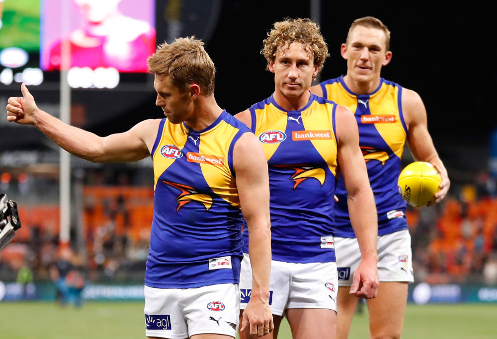 Matt Priddis West Coast Eagles AFL 2017 Finals