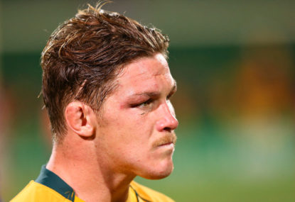 Michael Hooper's starting Wallabies spot is at risk
