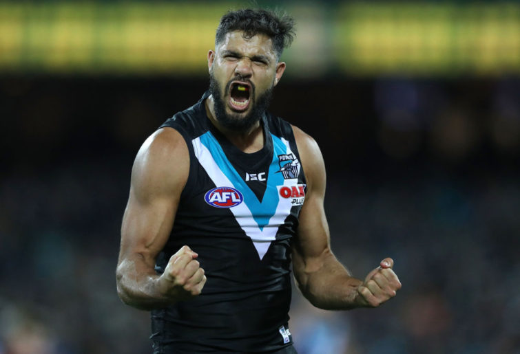 Paddy Ryder Port Adelaide Power 2017 AFL