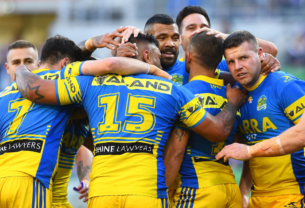 Parramatta Eels NRL Rugby League Finals 2017