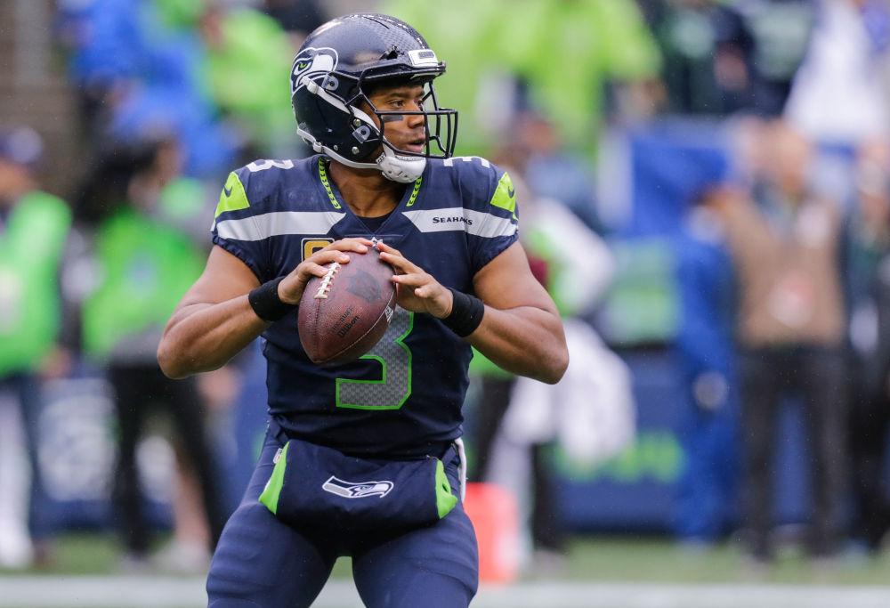 Russell Wilson Seattle Seahawks NFL 2017