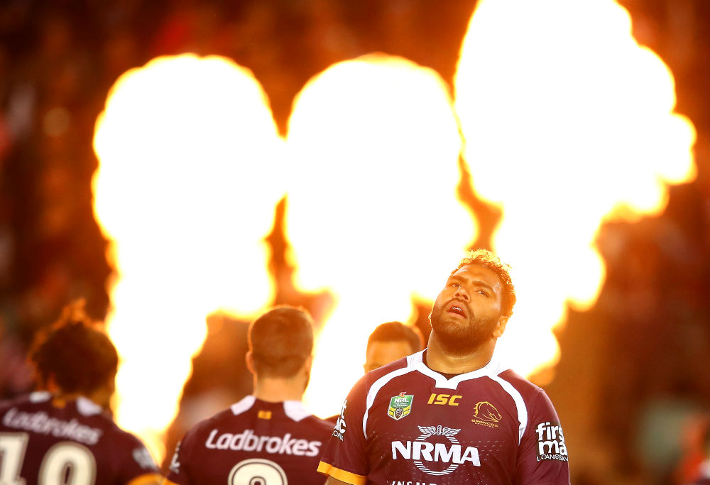 Sam Thaiday Brisbane Broncos NRL Rugby League Finals 2017