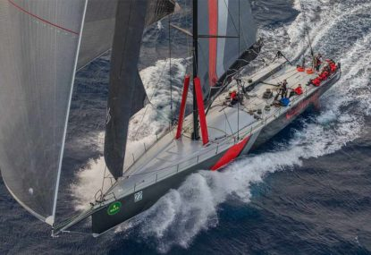 Shark collision cruels supermaxi Scallywag in Sydney to Hobart race