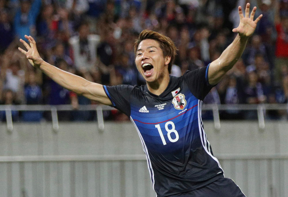 Takuma Asano Japan Football 2017