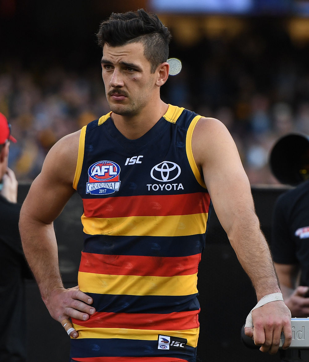 Taylor Walker Adelaide Crows AFL Grand Final 2017 tall