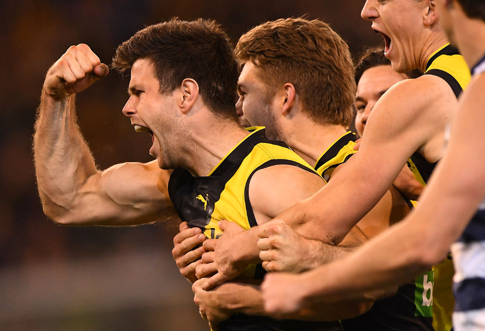 Trent Cotchin Richmond Tiger AFL 2017