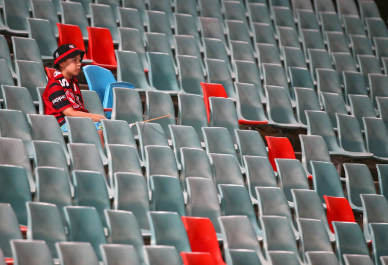 A-League crowd
