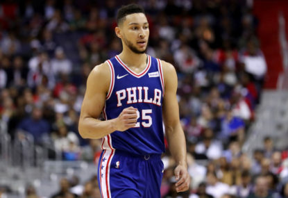 An imperfect Ben Simmons is still having a star's impact