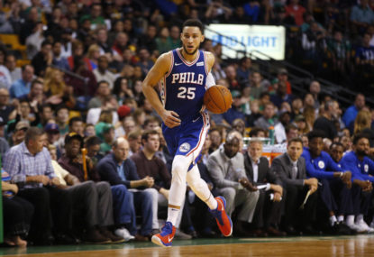 Simmons makes history with playoff triple-double