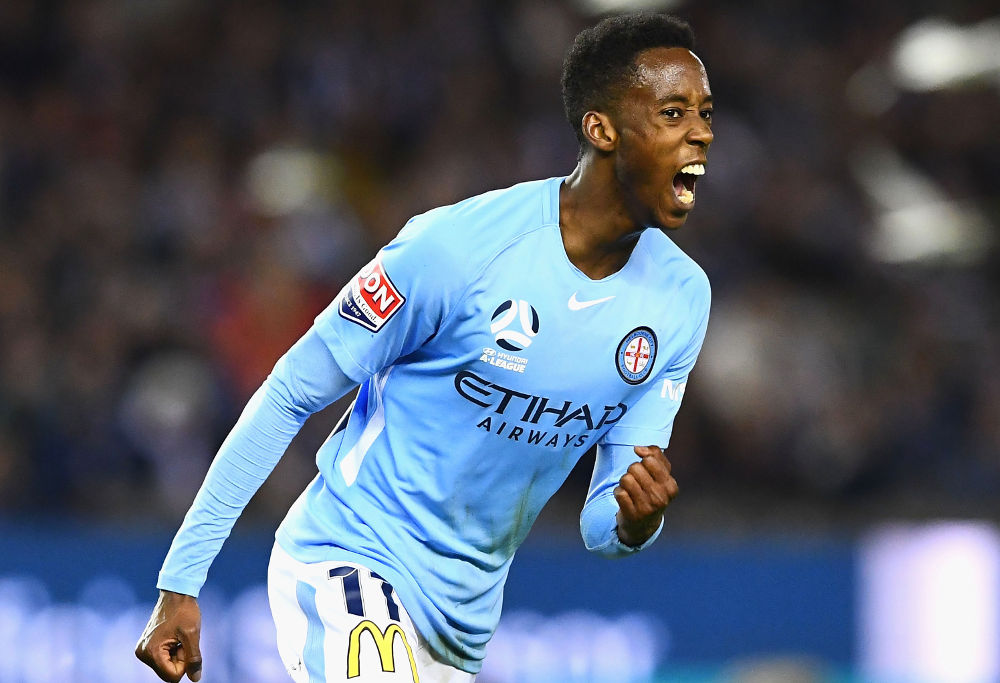 Bruce Kamau Melbourne City