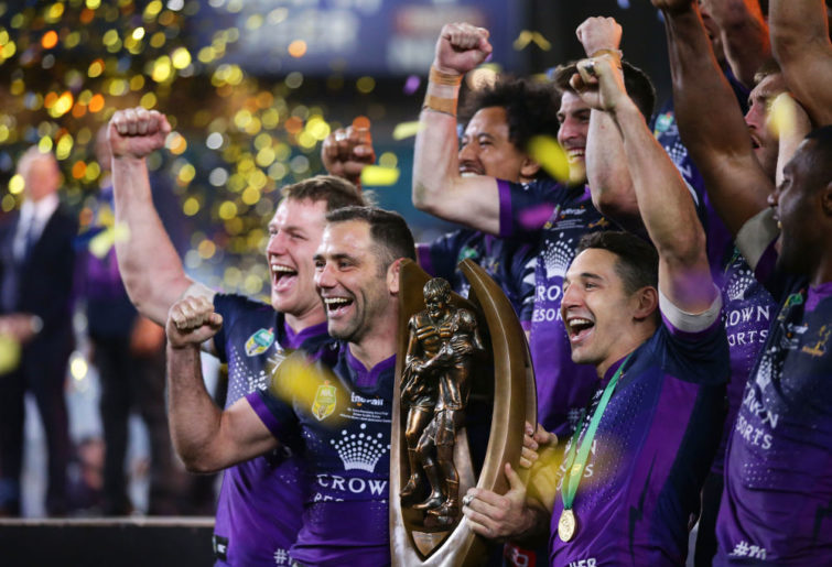 Cameron Smith NRL Rugby League Melbourne Storm Grand Final 2017